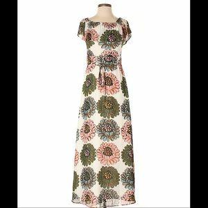 Ann Taylor Loft Peony maxi dress